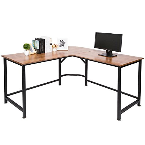 TOPSKY L-Shaped Desk Corner Computer Desk 55'...