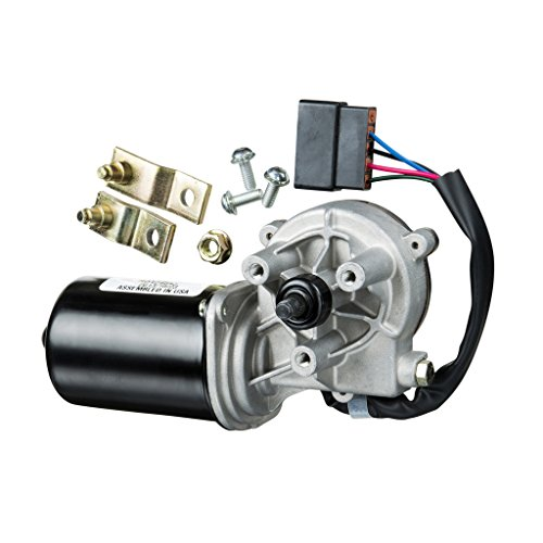 AutoTex Windshield-Wiper Motor for Buses - Replacement for Blue Bird (Pre-2006) and Thomas (post-1973) Wiper Blade Motors - AX9111 Crosses with Wexco and Blue Bird #4304440-12V