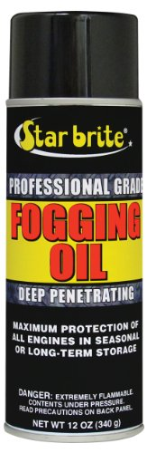 Star brite Professional Grade Fogging Oil - 12 oz Spray – Engine Treatment & Storage 84812