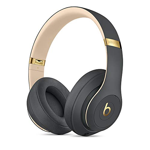 Beats Studio3 Over-Ear Bluetooth Kopfhörer mit Noise-Cancelling – Apple W1 Chip, Bluetooth der Klasse 1, aktives Noise-Cancelling, 22 Stunden Wiedergabe – Asphaltgrau