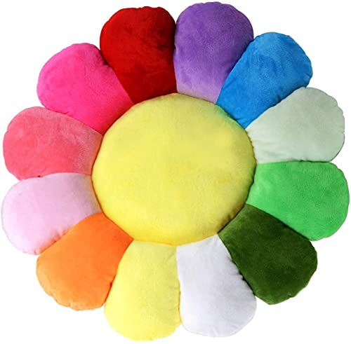 18' Flower Shaped Seating Cushion Sofa Chairs Floor Pillow for Kids Girls Reading Nook Watching TV Bed Room Decoration