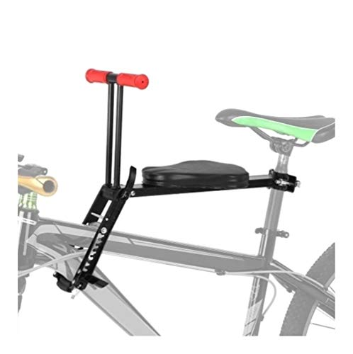 Buy Lightweight Foldable Child Bicycle Seat, Kids Saddle Bicycle Bike Front Mount Children Safety Fr...