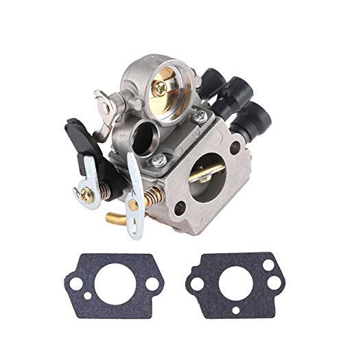 YiWu Accesorios de Motos Carb carburador for STIHL MS 171 181 211 MS171 MS181 MS211 C1q S123B 1 Set