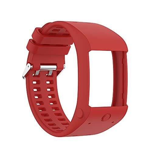 JINQII Correa de Reloj de Repuesto de Silicona Compatible con Polar M600 Pulsera de Reloj Inteligente Transpirable