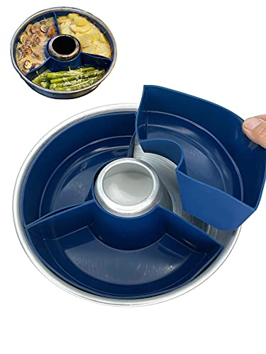 STYYL Molde de silicona en 3 partes, apto para horno Omnia®, inserto de silicona, molde para horno, molde para tartas, molde de silicona para Omnia Sweden