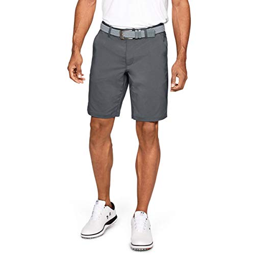 Under Armour EU Tech Short Homme, Gris, FR Fabricant : Taille 34