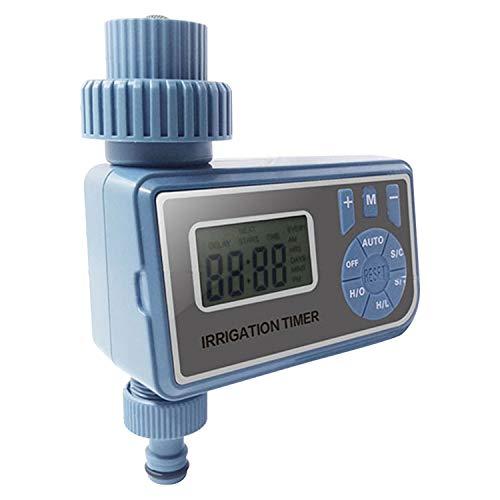 Galapara Irrigatiecomputer, irrigatie water timer controller tuin elektronisch programmeerbare automatische irrigatie timer waterkraan slang timer met LCD-display voor outdoor parterre