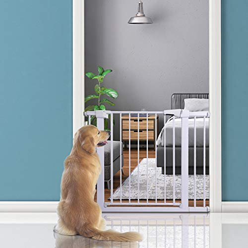 41QhTmth1EL The 7 Best Pressure Mounted Baby Gates of [2021 Review]