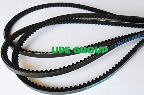 "Replacement Belt for 3VX380 Industrial V Belt Notched Cogged Raw Edge 3-VX-380 3VX 380 (3/8"" X 38"")"