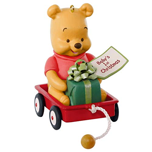 Hallmark Keepsake Ornament 2019 Year Dated Disney Winnie The Pooh Baby's First Christmas