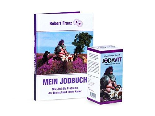Robert Franz - Jodavit 250ml (Jod-Konzentration 30mg/l) und Buch: