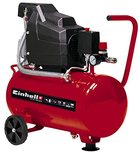 Einhell Compressor TC-AC 190/24/8 (Maximum 8 bar, 24 Litre...
