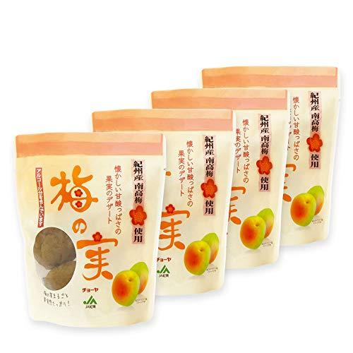 チョーヤ 梅酒のうめ 『 甘漬け梅の実 200g×4袋 』 大粒の紀州産南高梅100%使用 スイーツ デザート