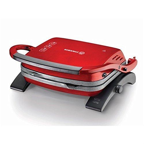 Korkmaz Tostkolik Toast Makinasi Rood Grill Broodrooster Sandwichmaker Graniet NON STICK A329-16