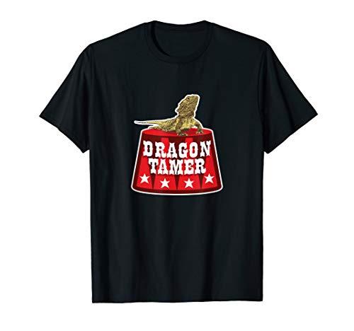 Dragon Tamer Circus Bearded Dragon Funny T-Shirt