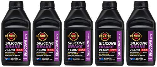 Penrite Öl Silikon Bremsflüssigkeit DOT 5, Trockenkochpunkt 302 Grad, 2,5 Liter