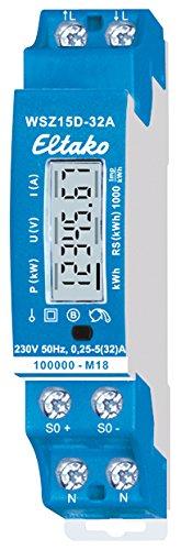 Eltako WSZ15D-32A Wechselstromzähler 32A, MID, 230 V