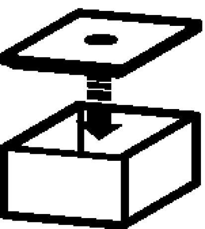 Duravit-doos voor spiegelkast, gereedschapsdoos met deksel, 100x160 mm, Kleur (voorzijde/karkas): stevige ahorn - XV994807878