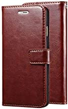 BeingStylish Flip Cover for Realme C2 Mobile Phone (Executive Brown) | Premium Leather Finish | Foldable Stand Case | Wall...
