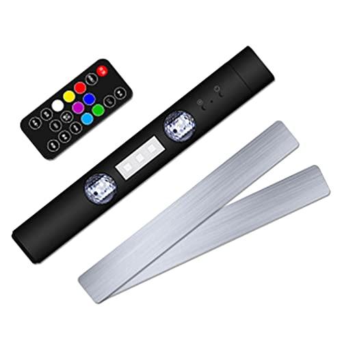 SOLUSTRE Led Atmósfera Estrellada Luz Interior del Coche Luces Ambiental USB Multicolor Neón Acento RGB Led Estrella Decoración Luz para Habitación Camping Fiesta Celebración Karaoke