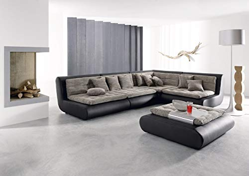 Sofa Dreams Wohnlandschaft EXIT Seven Plus Hocker
