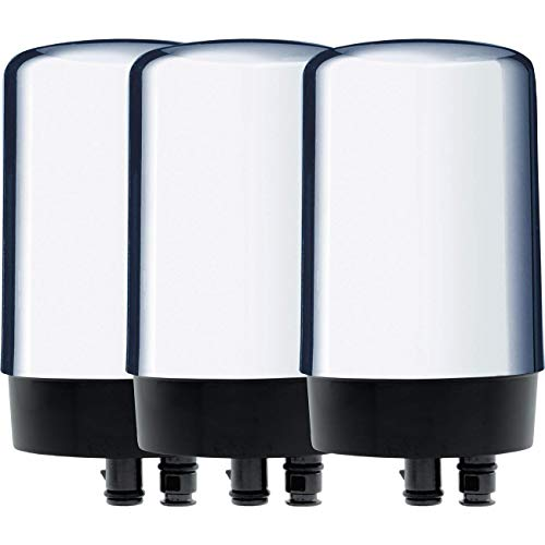 Brita 42617 On-Tap FR-200 Faucet Filter Replacement Cartridge - Chrome-- (Package Of 3)