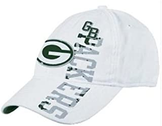 9fa92896fc33ad Reebok Green Bay Packers Old Orchard Beach Distressed Slouch Hat Size S/M