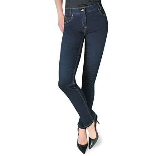 STEILMANN Shaping-Jeans Pamela dunkelblau Gr. 40 - (908100 74580 FB.65 BLAU GR.40)