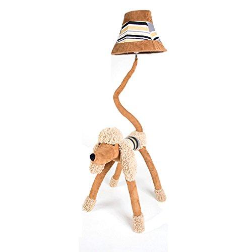 Good thing Lampadaire Enfants Cartoon Puppy Lovely Lampadaire Creative Personality Lighting Chambre Lampe sur le sol Bureau Étude Salle de séjour Vertical Table Lamp