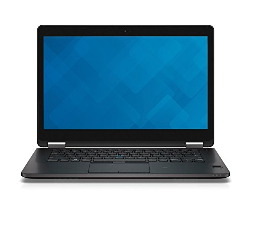 Dell Laptop Latitude E7470 de 14 pulgadas, color negro, Intel Core i5 2.4GHz, 16GB RAM, 256GB SSD, Intel HD Graphics 520, Windows 10 Pro (renovado)