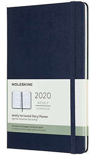 Moleskine - Agenda Semanal de 12 Meses 2020, Tapa Blanda y...