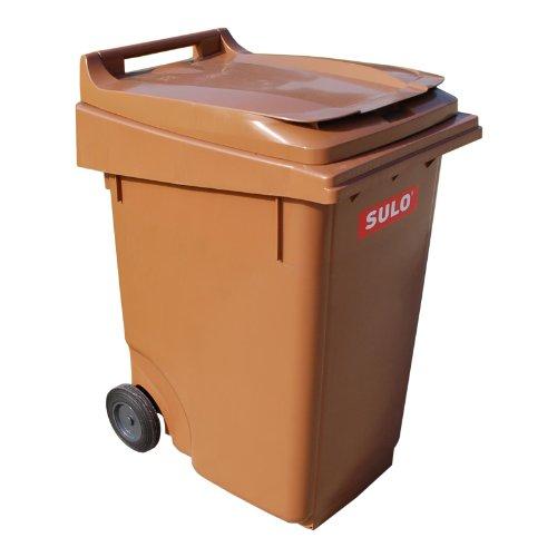 Sulo Mülltonne 360 Liter, braun
