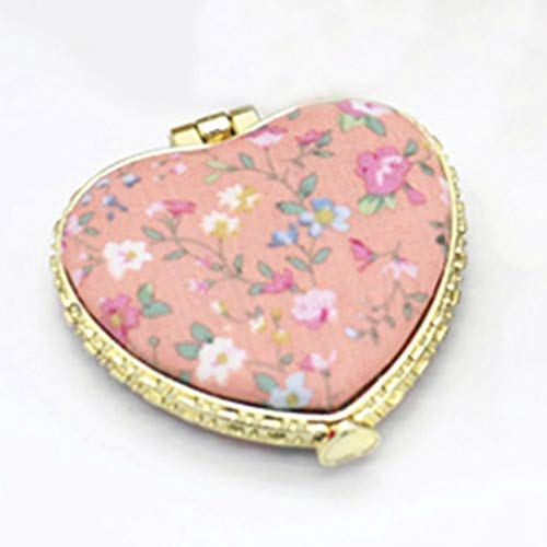 1 Piece Mini Makeup Compact Pocket Mirror OR2