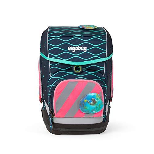 ergobag pack Sicherheitsset mit Reflektorstreifen - Sicherheitsset, 3-teilig - Pink - Pink