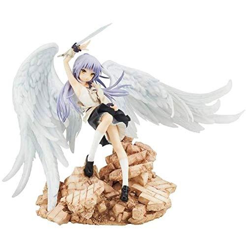 YIGEYI Angel Beats Kanade Tachibana Anime Acción Figura 8.66 Pulgadas Figuras de PVC Figuras Coleccionables Modelo de carácter Estatua Juguetes