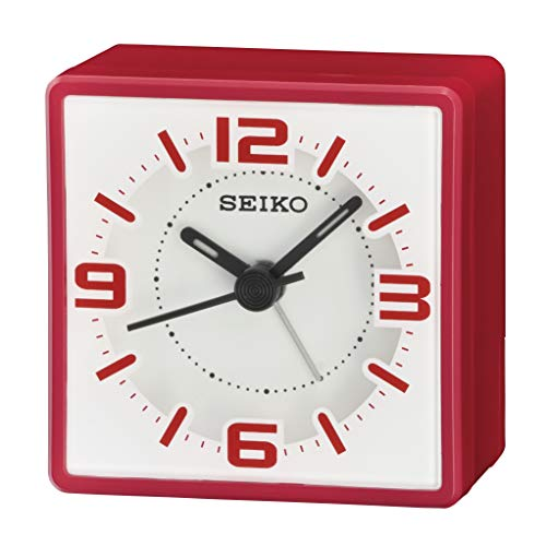 Seiko Wecker, Kunststoff, rot, Standard