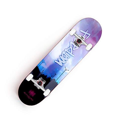Best Price! LIUFS-Skateboards 31.5Professional Finish Skateboard 7-Layer Maple Cruiser Double-warp ...
