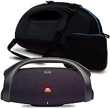 JBL Boombox 2 IPX7 Waterproof Portable Bluetooth Speaker Bundle with gSport Deluxe Travel Case (Black)