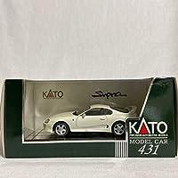 KATO 1/43 TOYOTA Supra White トヨタ スープラ ホワイト JZA80 RZ SZ 白色 旧車 ミニカー モデルカー