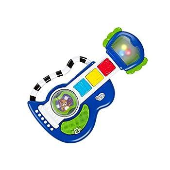 Baby Einstein Rock Light & Roll Guitar Musical Toy Ages 3 Months +