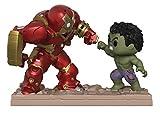 FUNKO - Marvel-Movie Moments-Hulkbuster Vs Hulk - Figura Multicolor, 31269