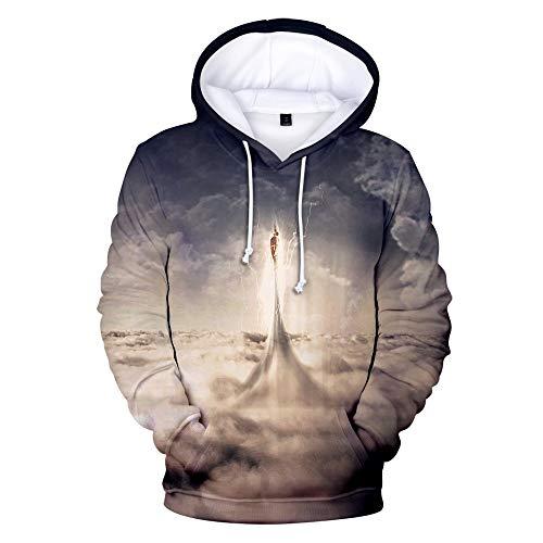 XIAOXIANNV Film 3D Shazam Hoodies Männer/Frauen Sweatshirts Mode Weiche Hoodies Kpop Hip Hop Langarm PulloverL