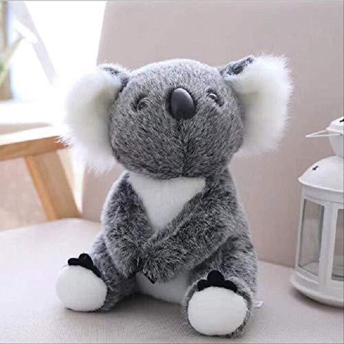 qwerqz Plush Toys Koala Doll Child Birthday Gift Teddy Bear,pp Cotton 18cm Grey rabbit