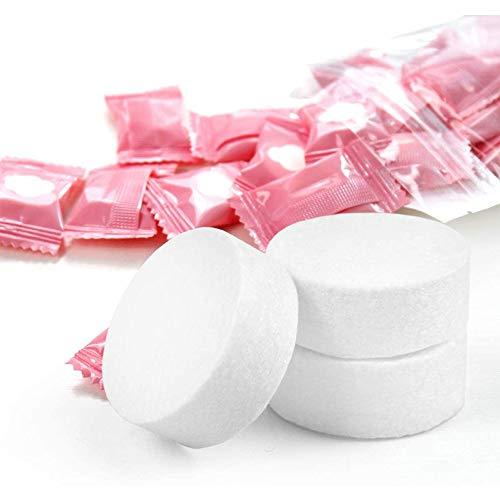 MQSS Handtuch Tabletten, 100% biologisch abbaubar, Trockentücher in Form von Tabletten, Handtuchpillen, Komprimiertes Handtuch Einweg Trockentücher2000PCS