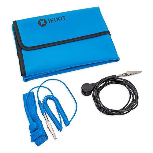iFixit Portable Anti-Static Mat, tapis anti-statique, protège les appareils électroniques contre DES/ESD/décharges statiques, pliable à emporter