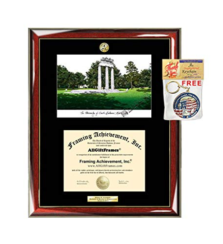 Signature Announcements Texas-Tech-University-School-of-Law Undergraduate Name /& Tassel Graduation Diploma Frame 23 x 24 Cherry Sculpted Foil Seal