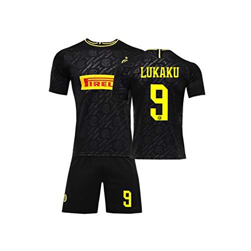PAOFU-Heren Voetbal Club Milano 9# Romelu Lukaku Fan Voetbal Jersey Voetbal Sport Team Training Uniform Jerseys