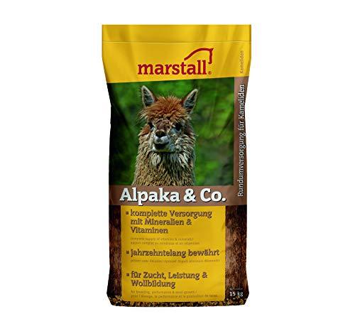 marstall Premium-Pferdefutter Alpaka+Co, 1er Pack (1 x 15 kilograms)
