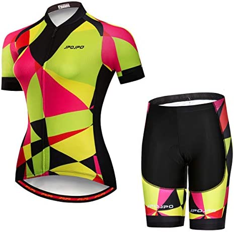 Women Cycling Jersey Set Summer Cycling Clothing MTB Jersey Set Quick Dry Breathable Summer product image