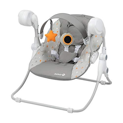 Safety 1st Alceo, Sillita mecedora de bebé 2 en 1, desde el